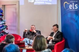 Vánoční setkání s europoslanci Jaromírem Štětinou a Luďkem Niedermayerem 19/12/2017